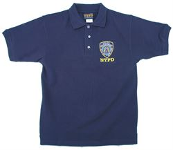 Embroidered NYPD Polo Kids Tshirt