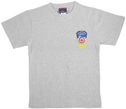 FDNY Embroidered Logo Tshirt