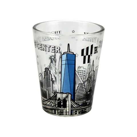 World Trade Center Shot Glass