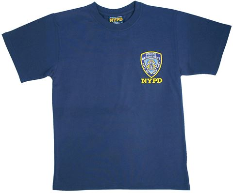 NYPD Logo Embrodiered Tshirts