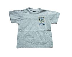 Embroidered NYPD Kids Tshirt