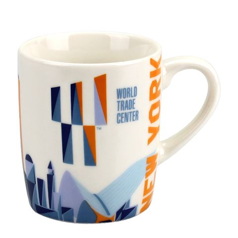 World Trade Center Colored Mini Mug